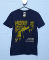 Sale Item - Deathray B Movie T Shirt - Cannibal Zombies - Large - Navy