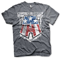 Captain America Distressed A T-Shirt