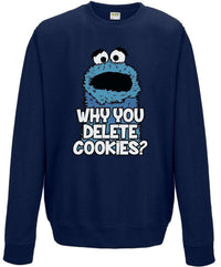 Why You Delete Cookies Hoodie or Sweatshirt