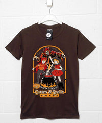 Official Steven Rhodes Curses and Spells T Shirt