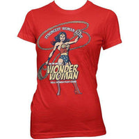 Wonder Woman Womens T Shirt - Real Women
