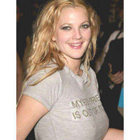 As Worn By Drew Barrymore - My Boyfriend Is Out Of Town Women's T Shirt - 8Ball