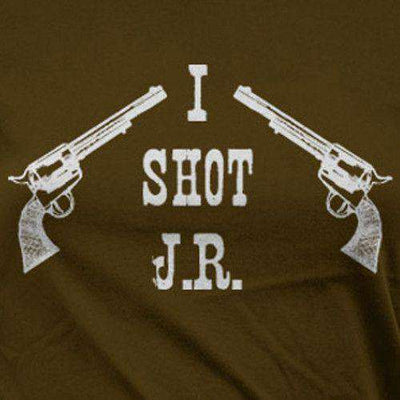 I Shot - Official Dallas Womens T Shirt Close Up