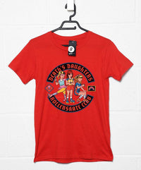 Official Steven Rhodes Death's Daughters Rollerskate Club T Shirt