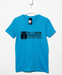 Back To The Future Inspired T Shirt - Dr E Brown Enterprises