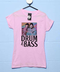 Drum & Bass Ringo & Paul Womens Fitted Style T Shirt