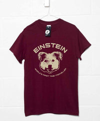 Back To The Future Inspired T Shirt - Einstein First Time Traveller