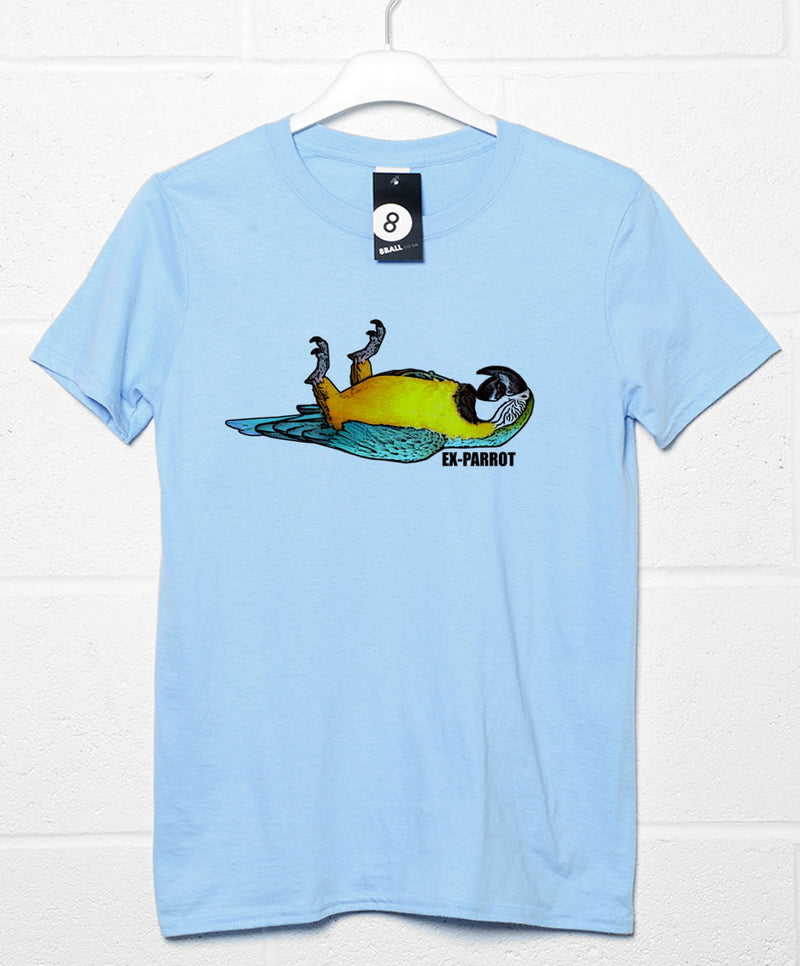 Only and Sons John Lennon and Parrot Printed Cotton Tee XL Black