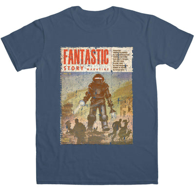Inspired By Back To The Future T Shirt - Fantastic Story Comic