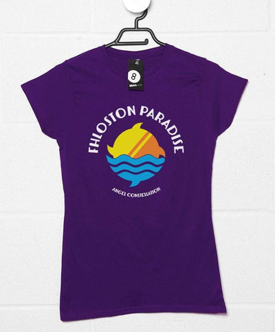 Fhloston Paradise Logo Womens T Shirt - Inspired by The Fifth Element