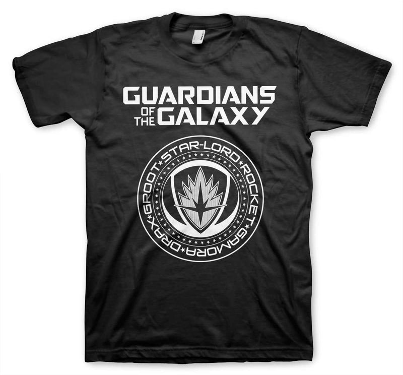 Guardians Of The Galaxy Shield T-Shirt