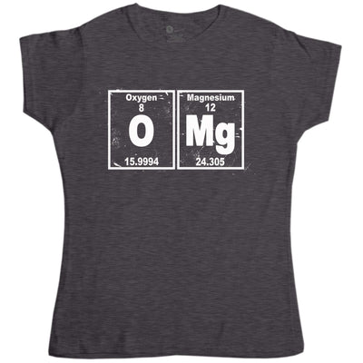 Nerd Geek Science Women's T Shirt - OMG