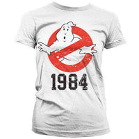 Ghostbusters Women's T Shirt - 1984 Logo