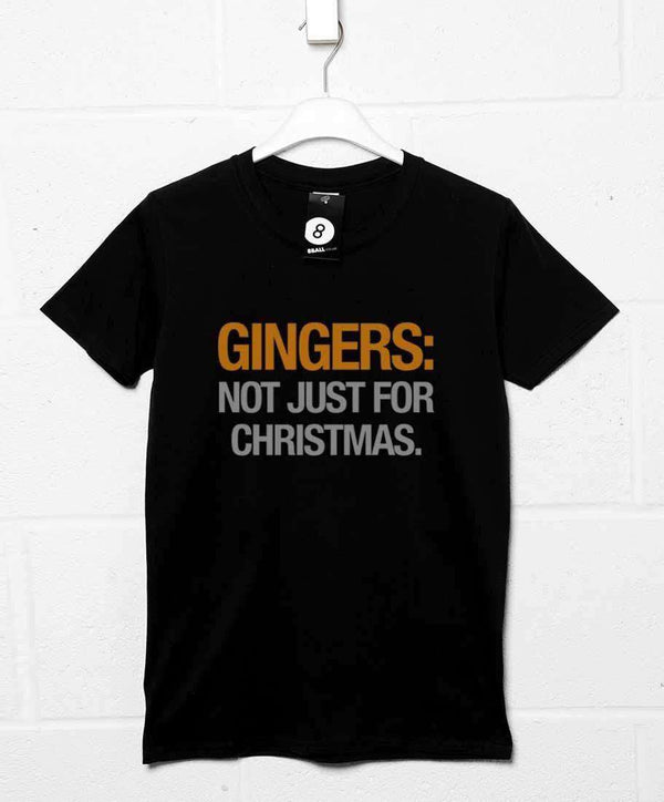 f5e10faa72 Mens Funny Christmas T Shirt - Gingers Not Just For Christmas