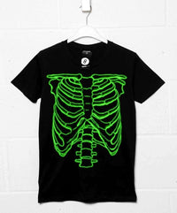 As Worn By Nigel Tufnel - Green Rib Cage T Shirt