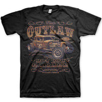 Hot Rod T Shirt - Retro Outlaw