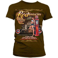 Hot Rod Women's T Shirt - Service Your Rod