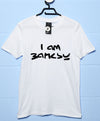 Banksy T Shirt - I Am Banksy