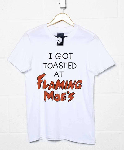 I Got Toasted At Flaming Moes - Inspired by The Simpsons T Shirt