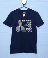 JohnnyCab We Hope You Enjoy the Ride T Shirt - Inspired by Total Recall