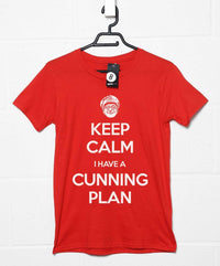 Keep Calm I Have a Cunning Plan T Shirt