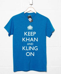 Star Trek Inspired Men's T Shirt - Keep Khan And Kling On