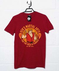 Ken's Martial Arts T-Shirt Inspired by Street Fighter
