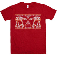 Knitted Jumper Style T Shirt - Snow Walkers