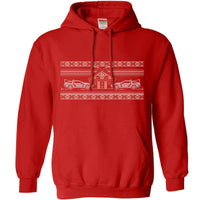 Knitted Jumper Style Hoodie - Bttf