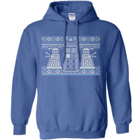 Knitted Jumper Style Hoodie - Dr Who