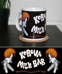 Korova Milk Bar Mug - Inspired by A Clockwork Orange