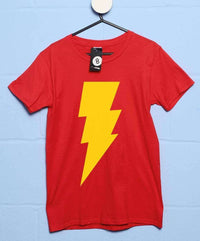 Inspired By Big Bang Theory- Sheldon's Lightning Bolt T Shirt