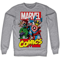 Marvel Comics Sweatshirt - All The Greats