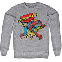 Marvel Comics Sweatshirt - Spider-Man Wall Crawler