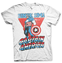 Marvel Comics Mens T Shirt - Captain America Since 1941