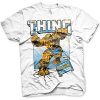 Marvel Comics Mens T Shirt - Fantastic Four The Thing All Out Action