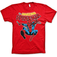 Marvel Comics Mens T Shirt - Spider-Man Web Slinger