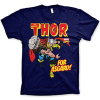 Marvel Comics Mens T Shirt - Thor For Asgard