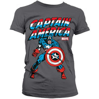 Marvel Comics Womens T Shirt - Captain America Sentinel Of Liberty