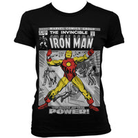 Marvel Comics Womens T Shirt - Iron Man Breaking Free