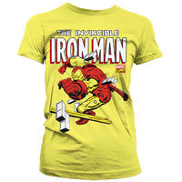 Marvel Comics Womens T Shirt - The Invincible Iron Man