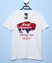 Motel America T Shirt - Inspired by American Gods