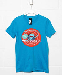 """Meeseeks /""""Existence is Pain/"""" T-Shirt Mr Rick and Morty Humor Funny"""