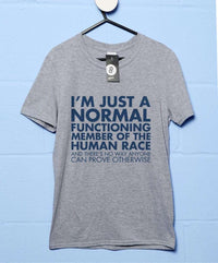Normal Member Of The Human Race T-Shirt