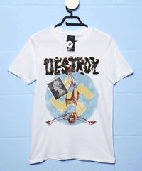 Inspired By The Sex Pistols - Punk Destroy Colour T Shirt