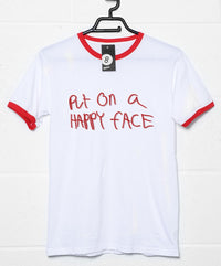 Lipstick Put on a Happy Face T Shirt