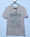 Quints Deep Sea Fishing Shark T Shirt