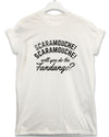 Scaramouche - Lyric Quote T Shirt