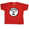 Sale Item - Cat In The Hat Kids T Shirt - Thing 2 - Age 9-11