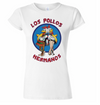 Sale Item - Breaking Bad Inspired Womens Tshirt - Los Pollos Hermanos - White - 8-10